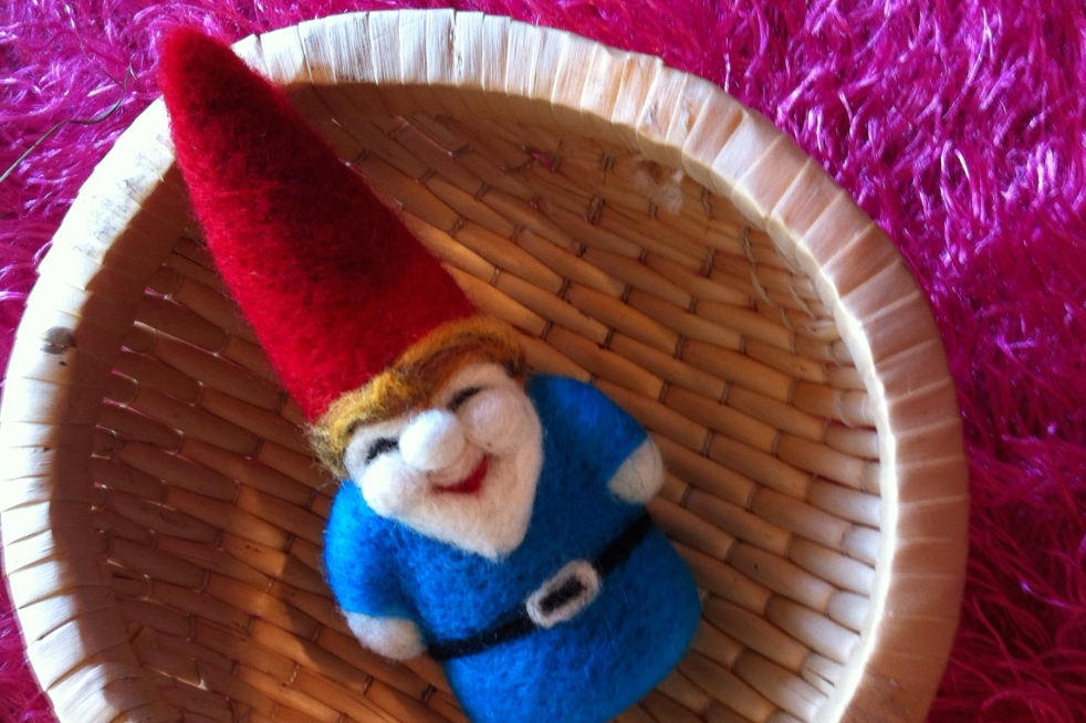 leah wilson felted gnome