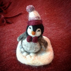 Needle Felting Cute Little Penguin AFFA